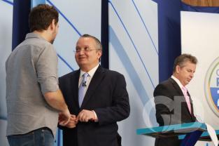 Mauro Mendes e Pedro Taques, debate Vila Real