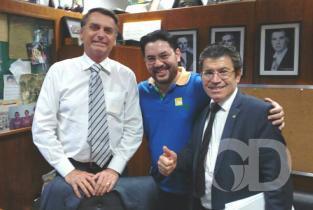 Victório Galli, Elias Galli e Jair Bolsonaro