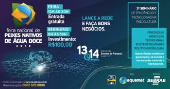 Feira Nacional de Peixes Nativos de Água Doce 2018