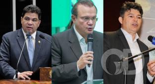 Senadores, Cidinho Santos, Wellington Fagundes, José Medeiros