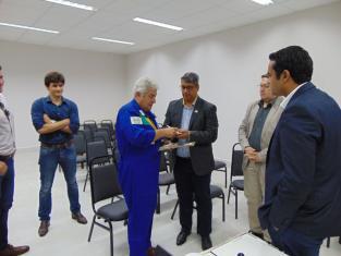 Reitor do IFMT e Marcos Pontes
