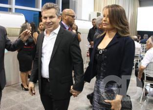 Mauro Mendes e Virgínia Mendes
