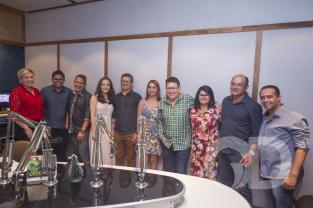 lançamento da Gazeta FM Tangará