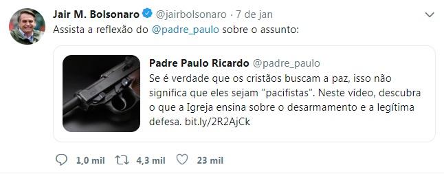 bolsonaro twit