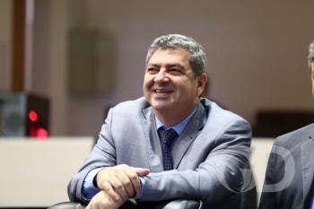 Guilherme Maluf durante sabatina