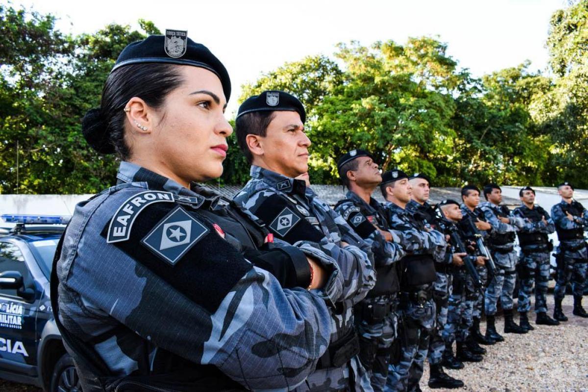 2a2be3dca Policial é única mulher na Companhia de Força Tática