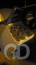PRF, perseguição BR-364, carros roubados