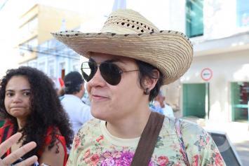 Lelica Lacerda Professora Manifestação / UFMT / Cortes na Educação IFMT