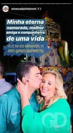 Emanuel Pinheiro e Márcia Pinheiro
