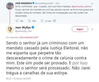 José Medeiros versus Jean Willians