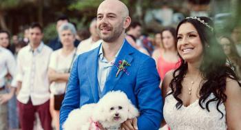 Casamento com pet Thais Bittencourt