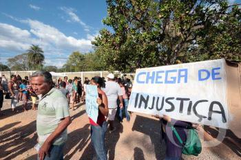 Moradores / Residencial Jonas Pinheiro / Fotos / Protesto / Forum
