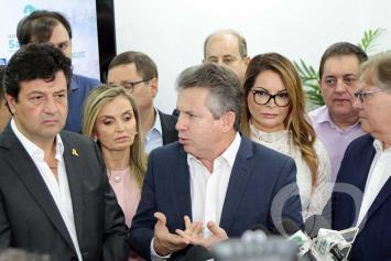 Luiz Henrique Mandetta / Inauguração / Hospital Estadual / Santa Casa