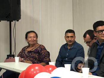 Encontro do PDT em VG reúne Cida Cortez (PT)  e coronel Zilmar (PSL)
