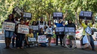 greve educação