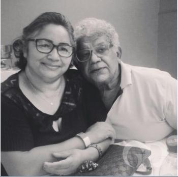 Bolinha e dona Santina