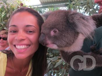 Cuiabanos pelo mundo - casal na austrália