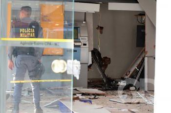 Explosão / Banco do brasil / CPA / Agencia CPA / Assalto / Furto