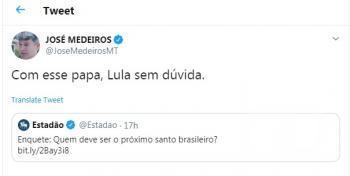 José Medeiros twitter