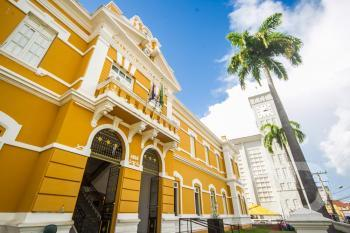 Fotos Pontos Turísticos da Capital / Cuiabá MT /  Palácio da Instrução