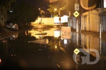 Chuva no bairro Praeiro