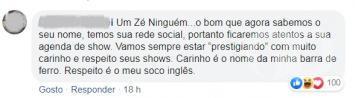 Ameaça Léuo Araújo