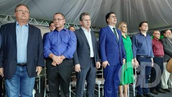 Inauguração do HMC, Emanuel Pinheiro, Mauro Mendes