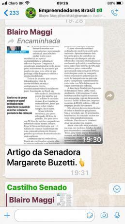 Print Blairo Maggi e Margareth Buzetti
