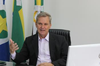 Presidente do TRE, Gilberto Giraldelli