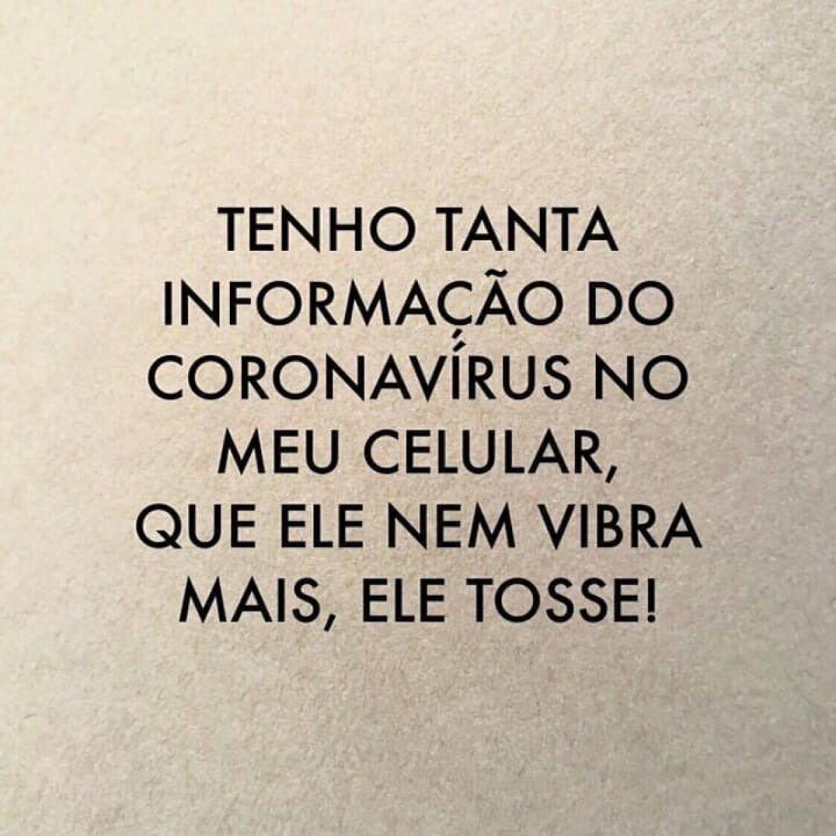Coronavírus 'espalha' novos memes nas redes sociais em MT | Gazeta Digital
