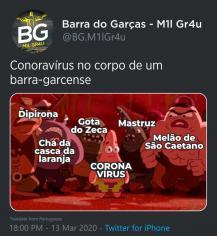 Coronavírus meme