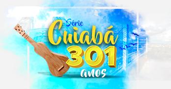 Selo Cuiabá 301 anos
