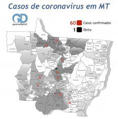 Mapa coronavírus 06 de abril