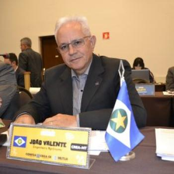 João Pedro Valente presidente do Crea