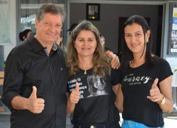 Prefeito Tony, Dona Selma e Vice Prefeita Sandra Vargas