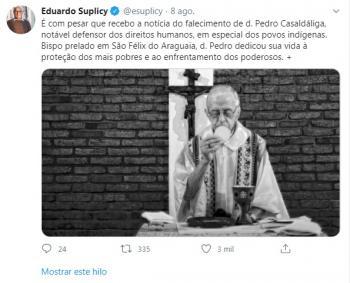 Eduardo Suplicy Dom Pedro
