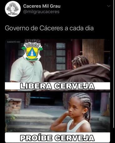 Meme decreto Cáceres