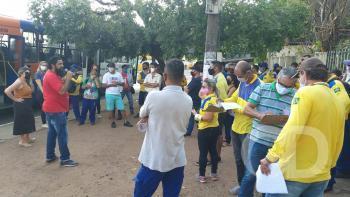 Manifestação trabalhadores dos Correios