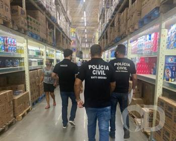 Polícia Civil cestas básicas