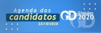 Agenda dos candidatos 23 de outubro