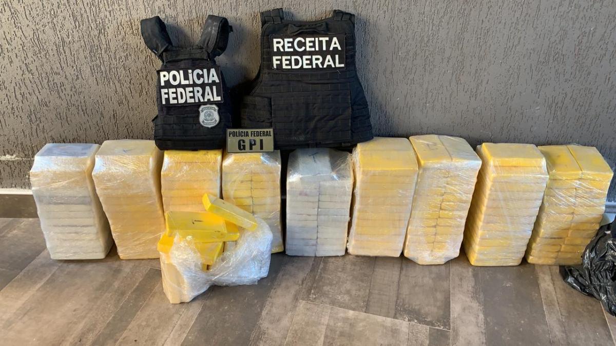 Cocaína saía de MT e ia para Europa e África; dois são presos