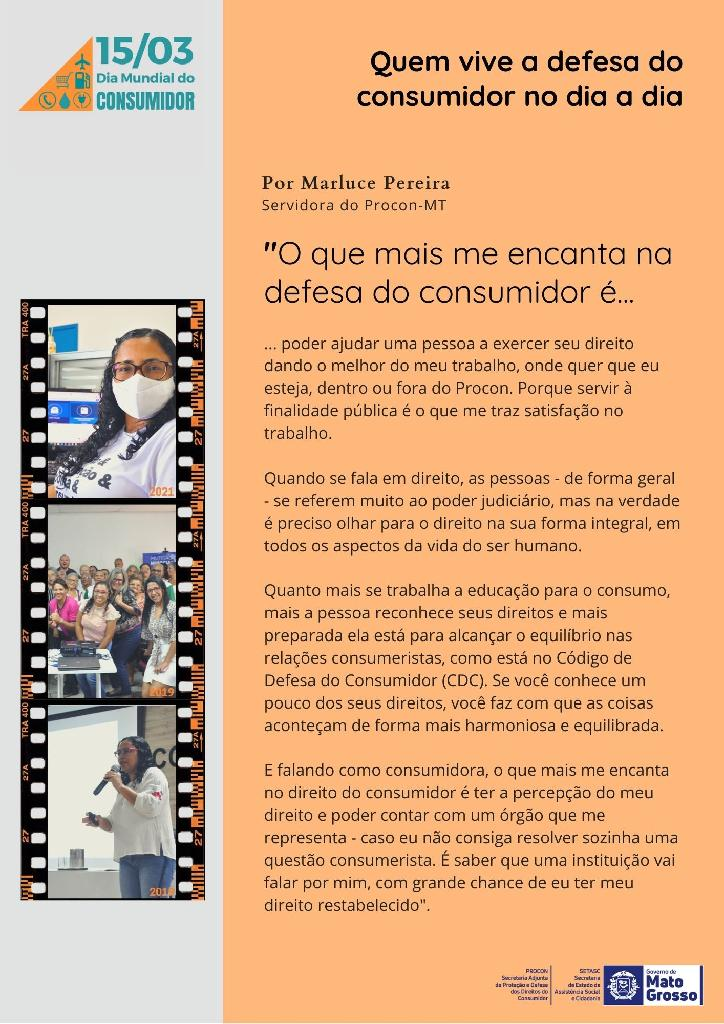 Depoimento Marluce Pereira