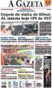 Jornal  A Gazeta de Cuiba MT