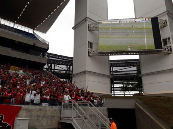 Resultado de imagem para Jogo do Cuiabá será exibido em telão na Arena Pantanal